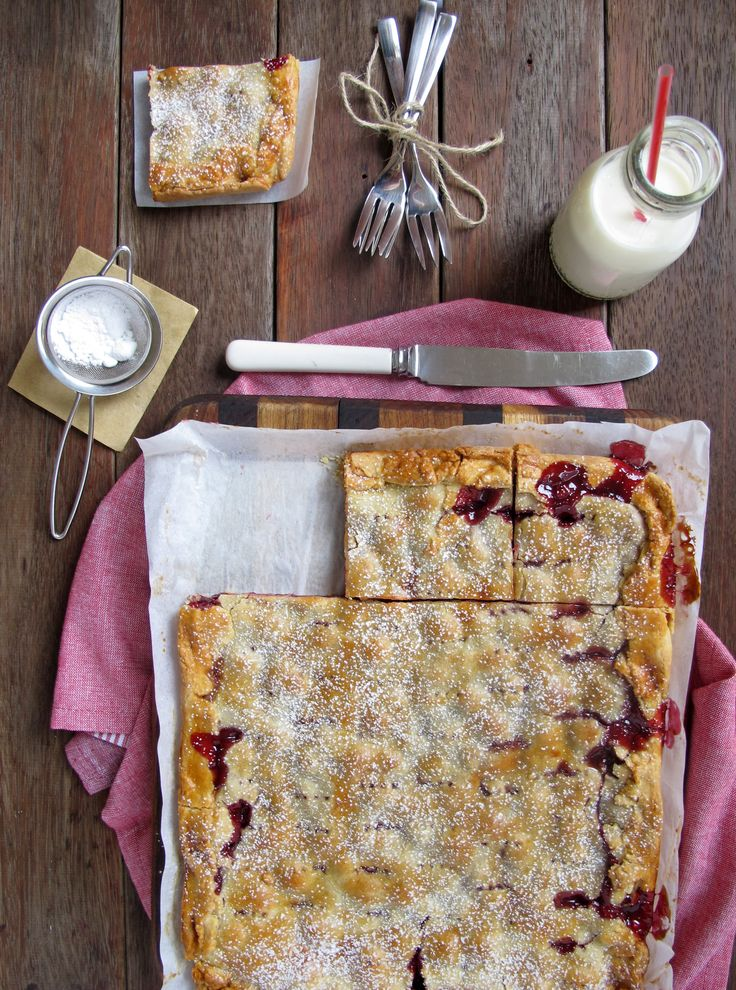Sour Cherry Pie Bars | Butter Baking