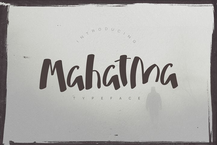Mahatma Typeface from FontBundles.net