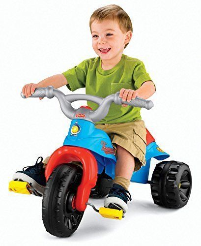 Kids Ride On Toy Tricycle Thomas The Train Tough Trike Toddler Bike Bicycle Gift