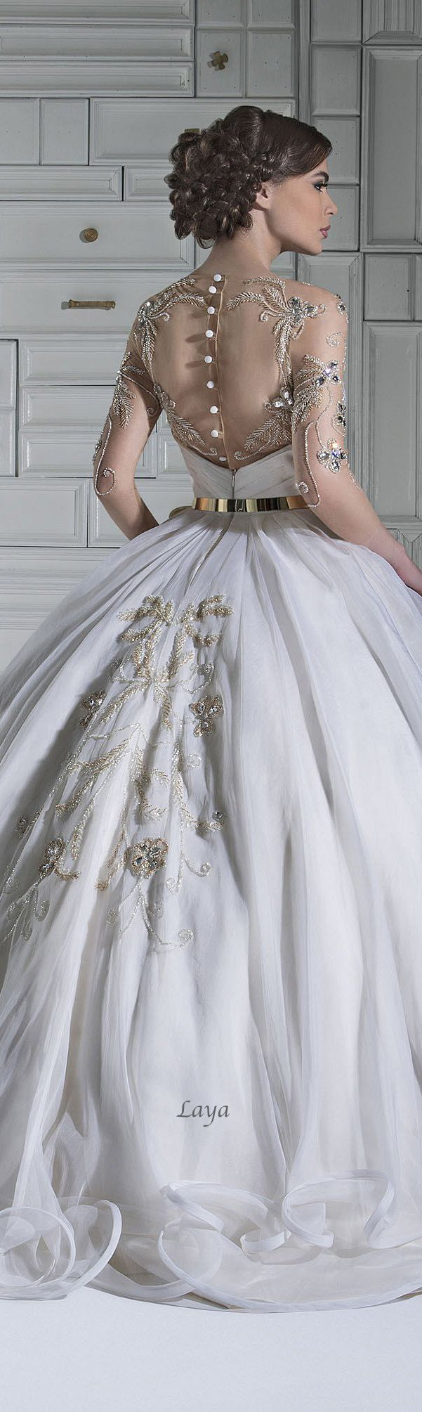 Chrystelle Atallah Wedding Dress