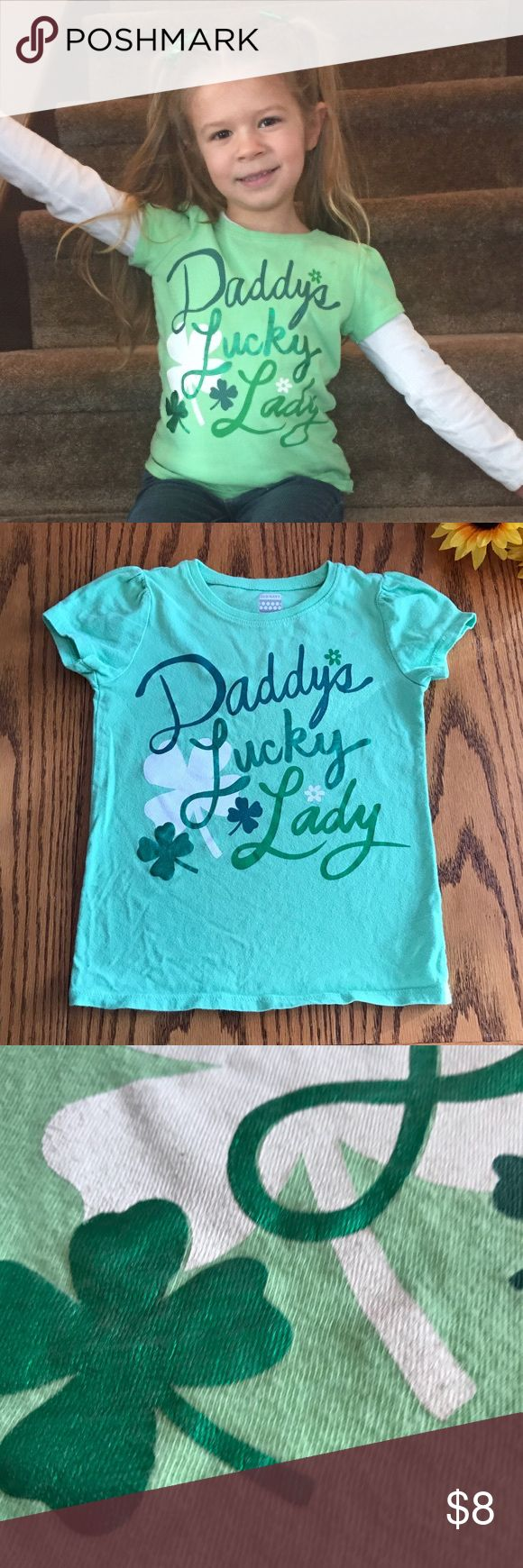 Old Navy 'Daddy's Lucky Lady' T-shirt . Size 4t Old Navy 'Daddy's Lucky Lady' T-shirt . Size 4t. Perfect for St. Patrick's Day. Cotton Old Navy Shirts & Tops Tees - Short Sleeve