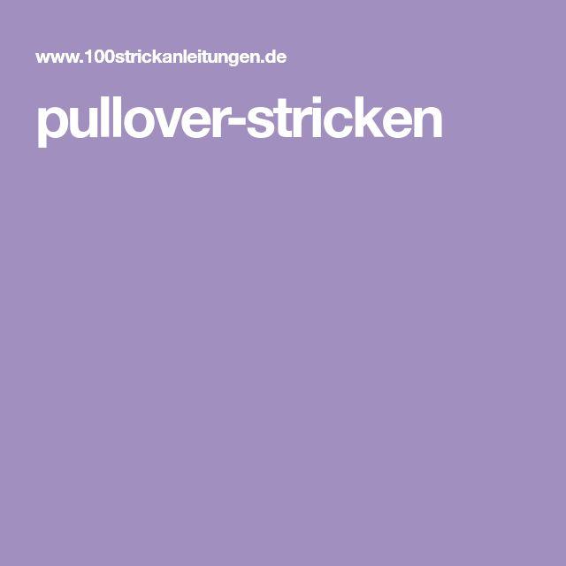 pullover-stricken