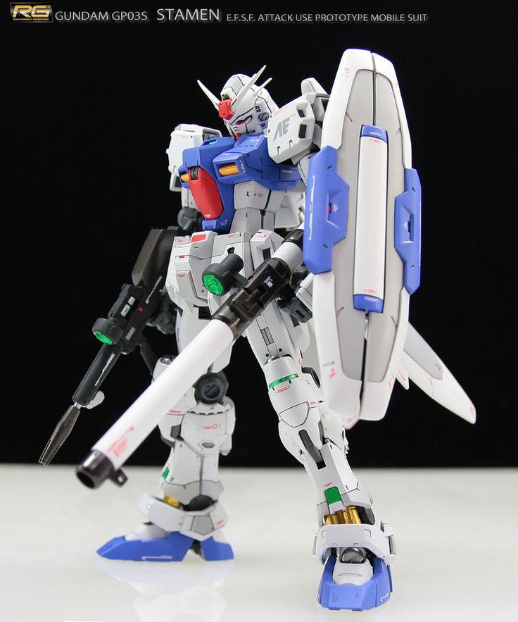 "Custom Build: RG 1/144 Gundam GP03S ""Stamen"" - Gundam Kits Collection News and Reviews"