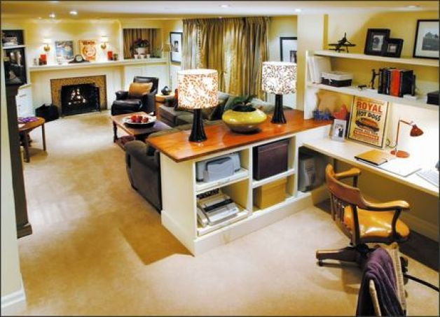 home office in living room. divine design u0027pineu0027 paneling is first to go in rec room hgtv playrooms and scrapbook home office living g