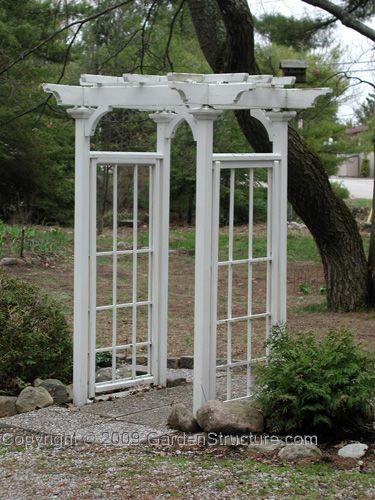 15 best images about arbor designs on pinterest arbor for Window trellis design