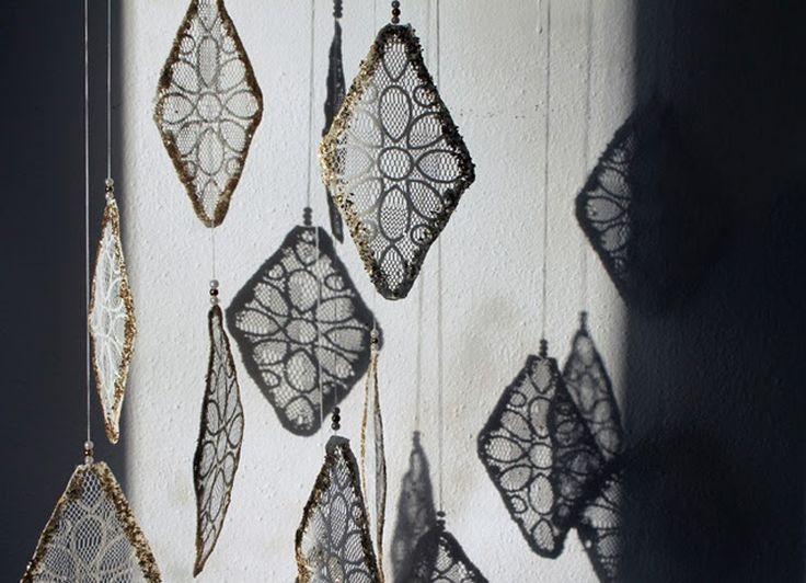Pretty laces ♥ helt og aldeles: DIY