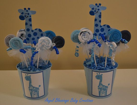 Giraffe Baby Shower Centerpieces Party On A Budget Centerpieces