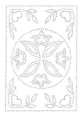 Punched Tin Pattern