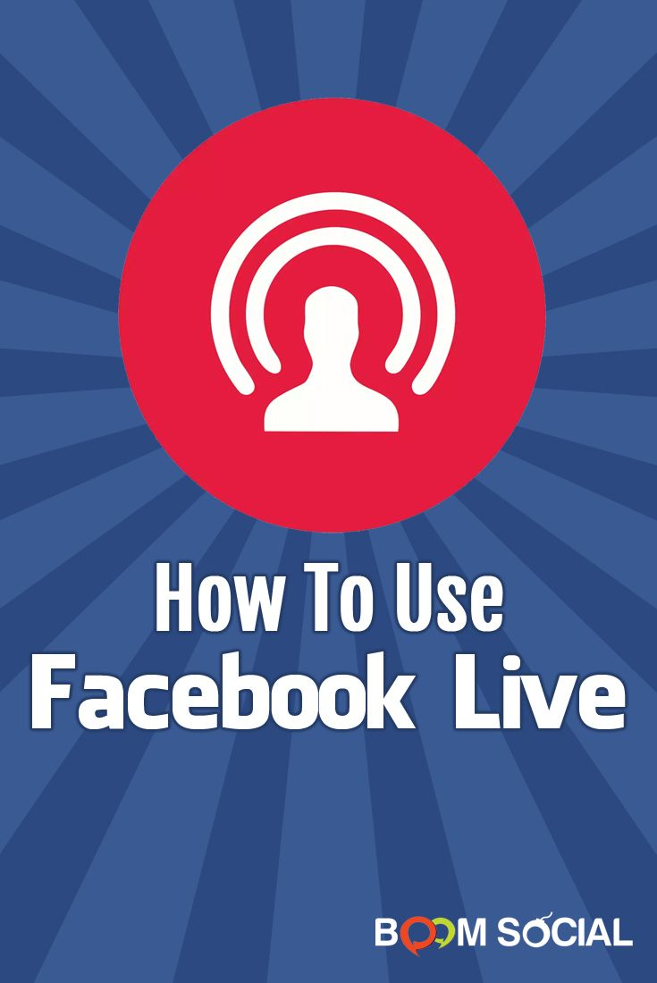 Learn how to use the Facebook Live app to do live broadcasts directly to your friends, followers, group members and event attendees for FREE!