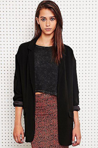 Urban Outfitters Silence and Noise oversized blazer.