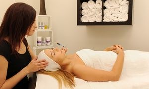 Groupon - Facial, Indian Head Massage + Brow Makeover Package for One ($ 39) or Two People ($69) at Clara Beauty (Up to $310 Value) in Fremantle. Groupon deal price: $39