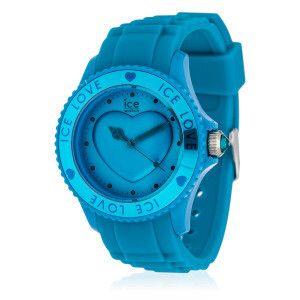 Orologio Ice-Love cristalli Swarovski®, turchese modello M Ø: 43 mm