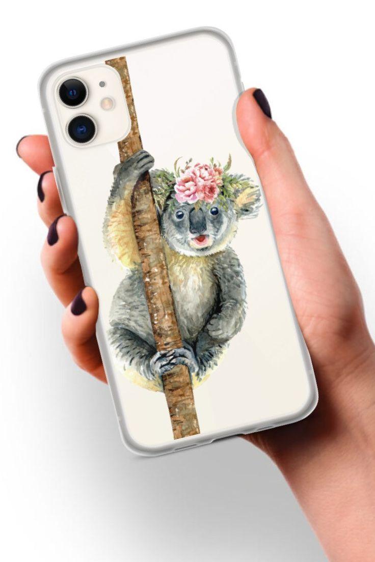 Cute koala bear iphone case clear phone case for iphone 11