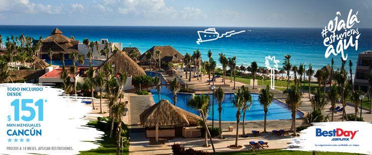 Un completo programa Todo Incluido, es lo que Oasis Cancun ha preparado especialmente para ti. Denominado The Entertainment Resort (El Resort del Entretenimiento), es una propiedad ubicada en la zona hotelera de #Cancun frente al mar. Durante tu estancia, serás sorprendido por los originales shows, que durante el día y la noche, ponen un toque especial de diversión. ¡No esperes más y haz realidad esas vacaciones en el Caribe Mexicano! #BestDay #OjalaEstuvierasAqui