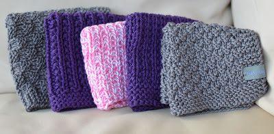 Oppskrifter på strikketkluter, kluter, strikkakluter