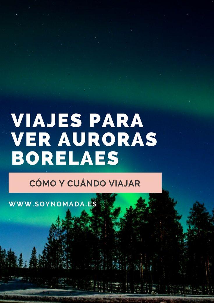 Viajes para ver Auroras Borelaes