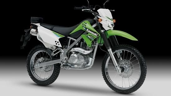Kawasaki KLX 125 Quelle: Kawasaki