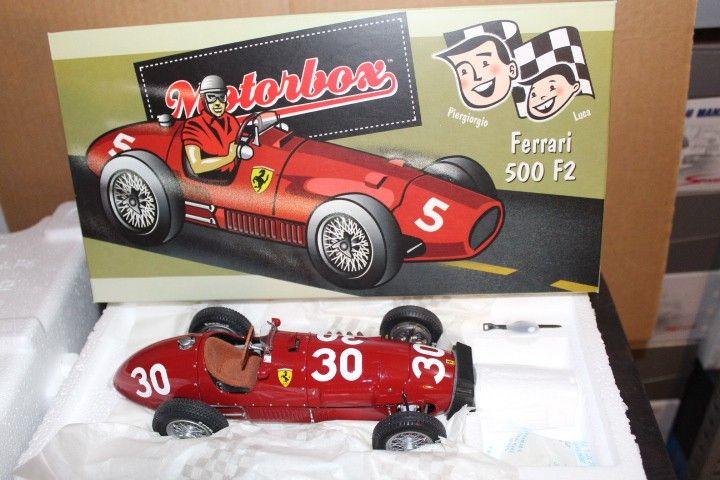 Motor Box Ferrari 500 F2 Nº50 1/18   #motorbox #exoto #f1 #ferrari