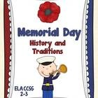 history of memorial day worksheet