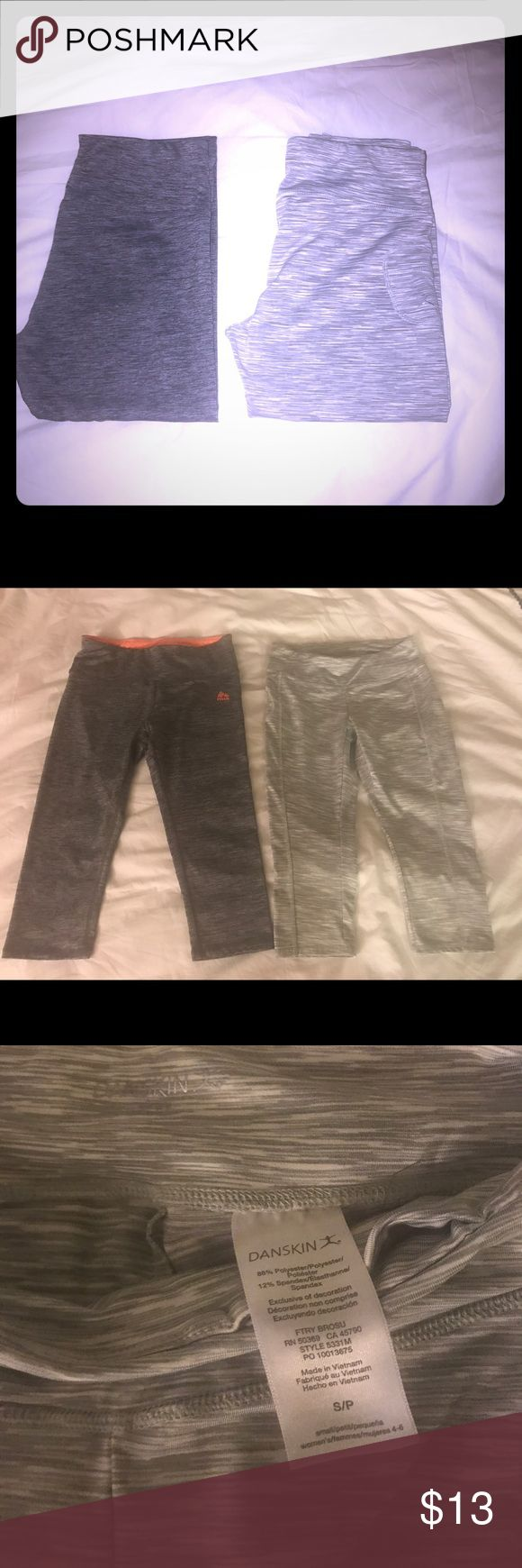 New! Gym Capris/Leggings Never worn Danskin & RBX Capri gym pants, both size small, soft, stretchy material. Ended up being to small for me, both size small Pants Leggings