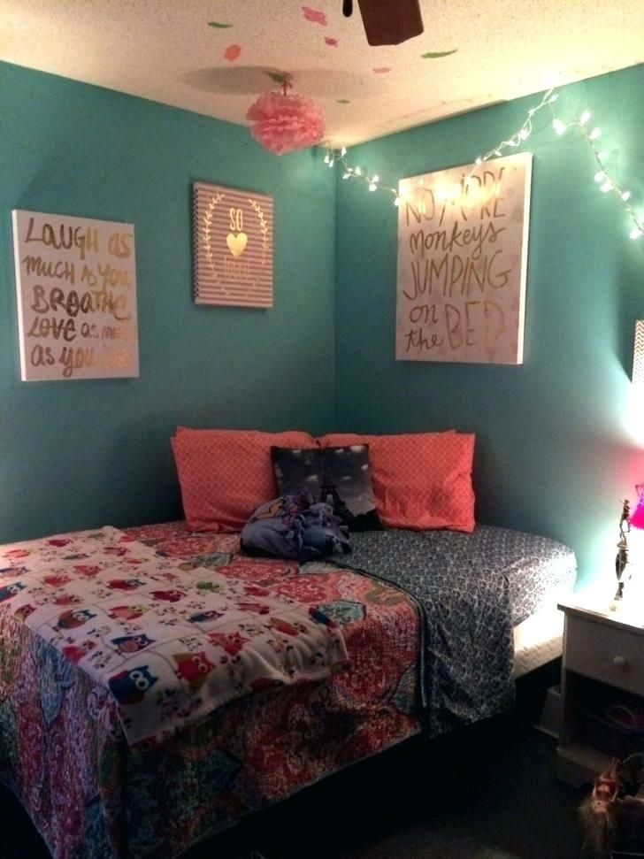 Bedroom Ideas For Teenage Girls With Medium Sized Rooms Interior