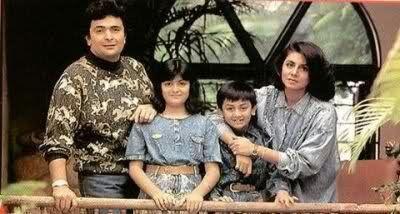 Ranbir Kapoor at a vacation with family