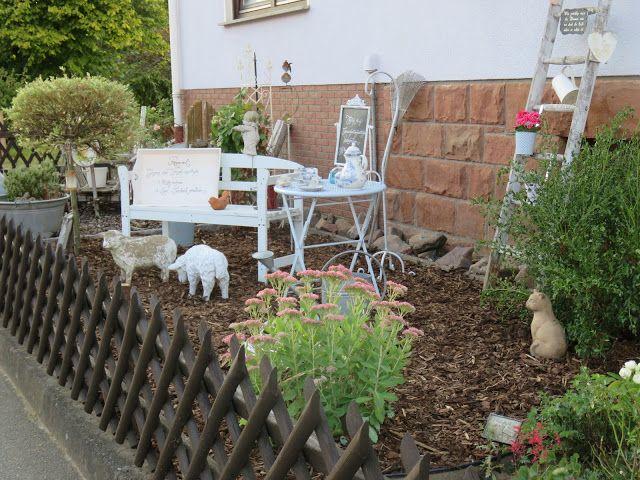 10 best Garten images on Pinterest Gardens, Landscaping ideas - vorgarten gestalten pflegeleicht modern