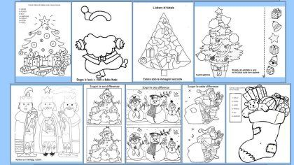 Il natale di maestra gemma in prima pagina lapbook for Natale maestra gemma