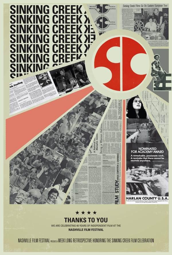 Nashville Film Festival Retrospective by Christie Passarello, via Behance