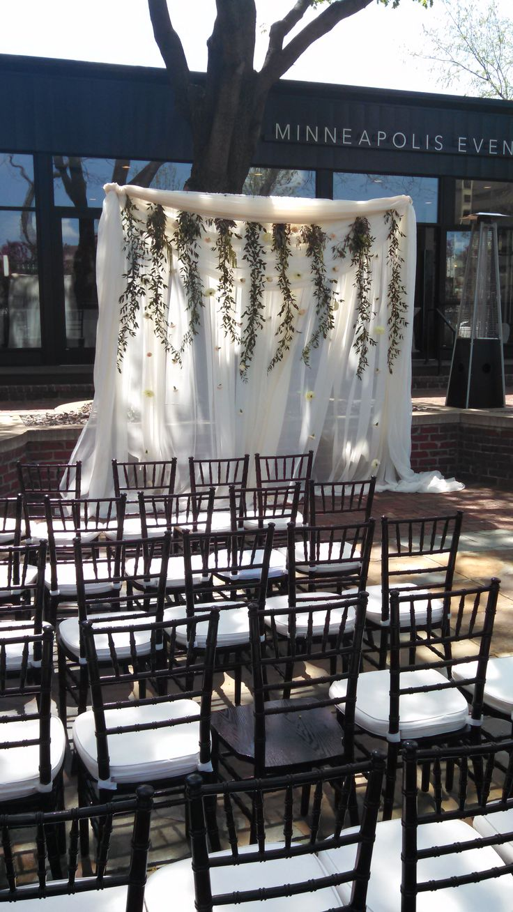 wedding ceremony outdoor minneapoliseventcenters May love alter