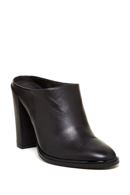 """23 Amazing Heels To Start Fall Off On The Right Foot #refinery29  http://www.refinery29.com/best-fall-heels-2015#slide-7  — SPONSORED —Not ready for boot season yet? Ease into fall footwear with this backless, closed-toe mule. The sleek, wear-with-anything style will fit seamlessly into your rotation — and keep you ahead of the mule revival. Kenneth Cole New York Jackson Clog $79.97, available at Nordstrom Rack. <a href=""""http://bit.ly/1hZ7joH"""" rel=""""nofollow"""" target=""""_..."""