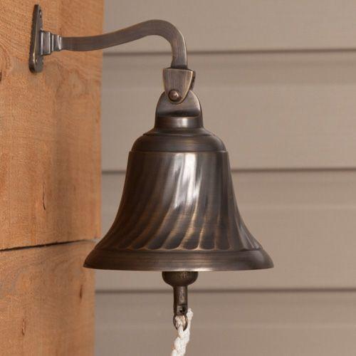 Solid Brass Spiral Dinner Bell