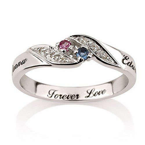 25 best ideas about engraved promise rings on