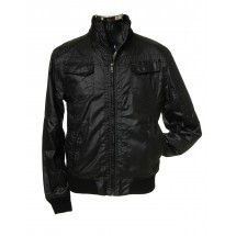 Men waxed jacket for modern moto style and protection from the elements Amazing price euro 41,-