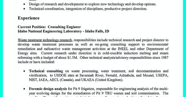 Successful Objectives in Chemical Engineering Resume. Check out that ...