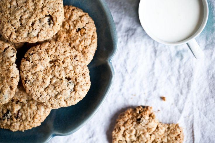 Kitchenette - Kořeněné ovesné sušenky s hrozinkami