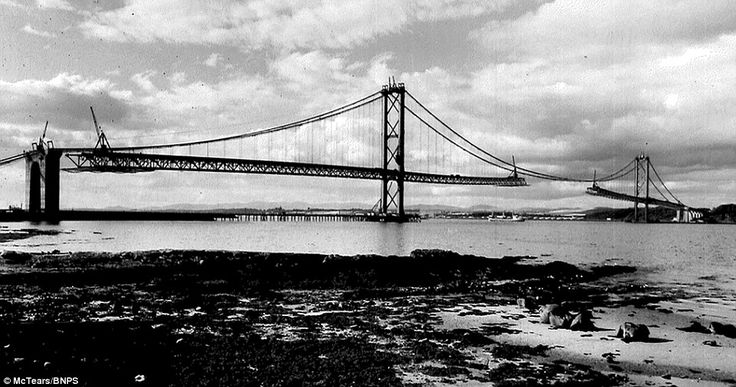 The photos were taken for engineering firm Sir William Arrol & Co which produced and installed the steelwork for the bridge. They were retained by a member of staff who cleared out the officers when the firm went bust in the 1980s