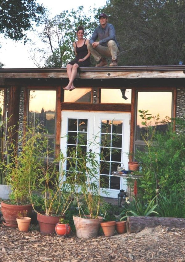 Taylor & Steph's $10k Earthship Home