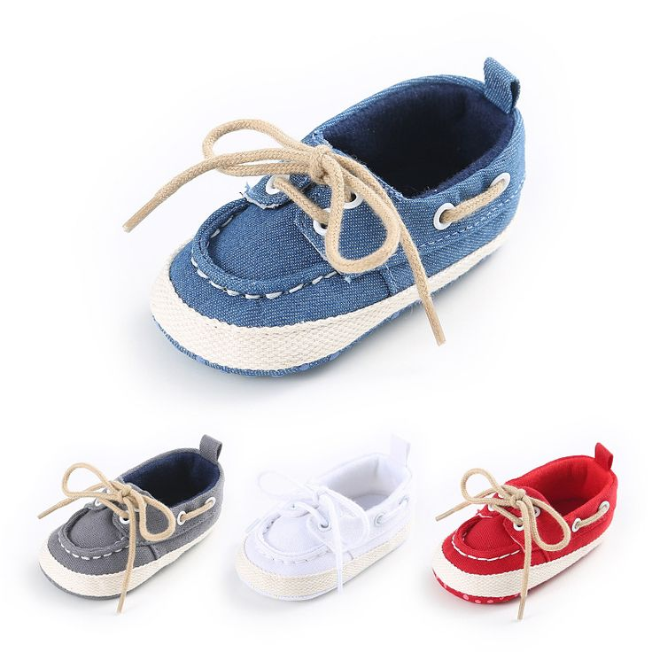>> Click to Buy << Cotton Fabric Baby Boy Girl Shoes Brand Non-slip Lace-Up Newborn Baby First Walkers Baby Sneakers Infant Toddler Crib Shoes #Affiliate