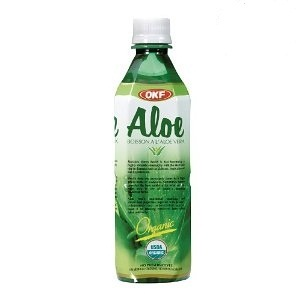 Drinking aloe not only helps with digestion, but it makes your skin glow!