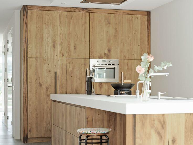 hout | modern | wit | strak | tijdloos | keuken | inspiratie