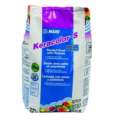 MAPEI Keracolor™ S 10-lb Sanded Grout with Polymer