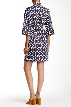 Max Mara Romania Printed Dress