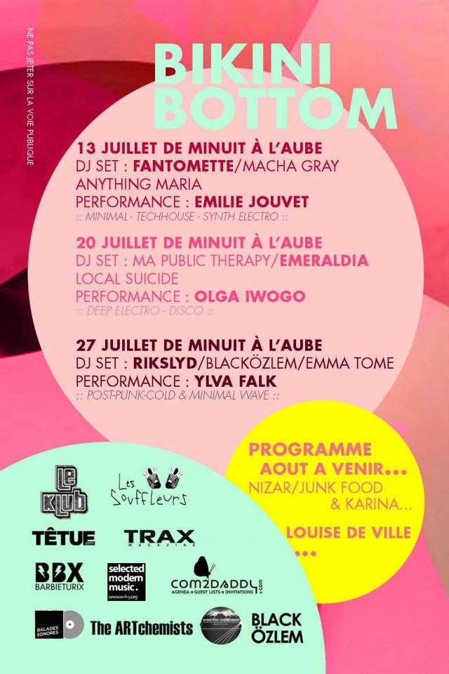 July 20, 2012 Paris - Le Klub