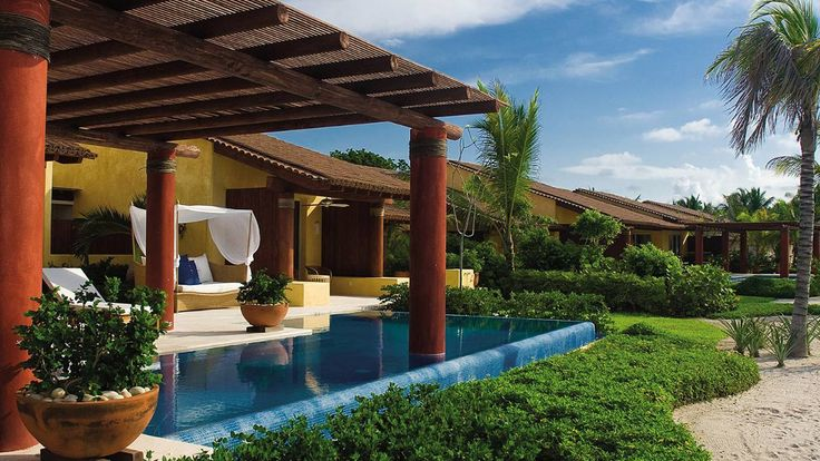 Charm. Step onto a white sand beach directly from your charming villa, one of the most exclusive and luxurious rental properties in all of Punta Mita. @Four Seasons Resort Punta Mita, Mexico