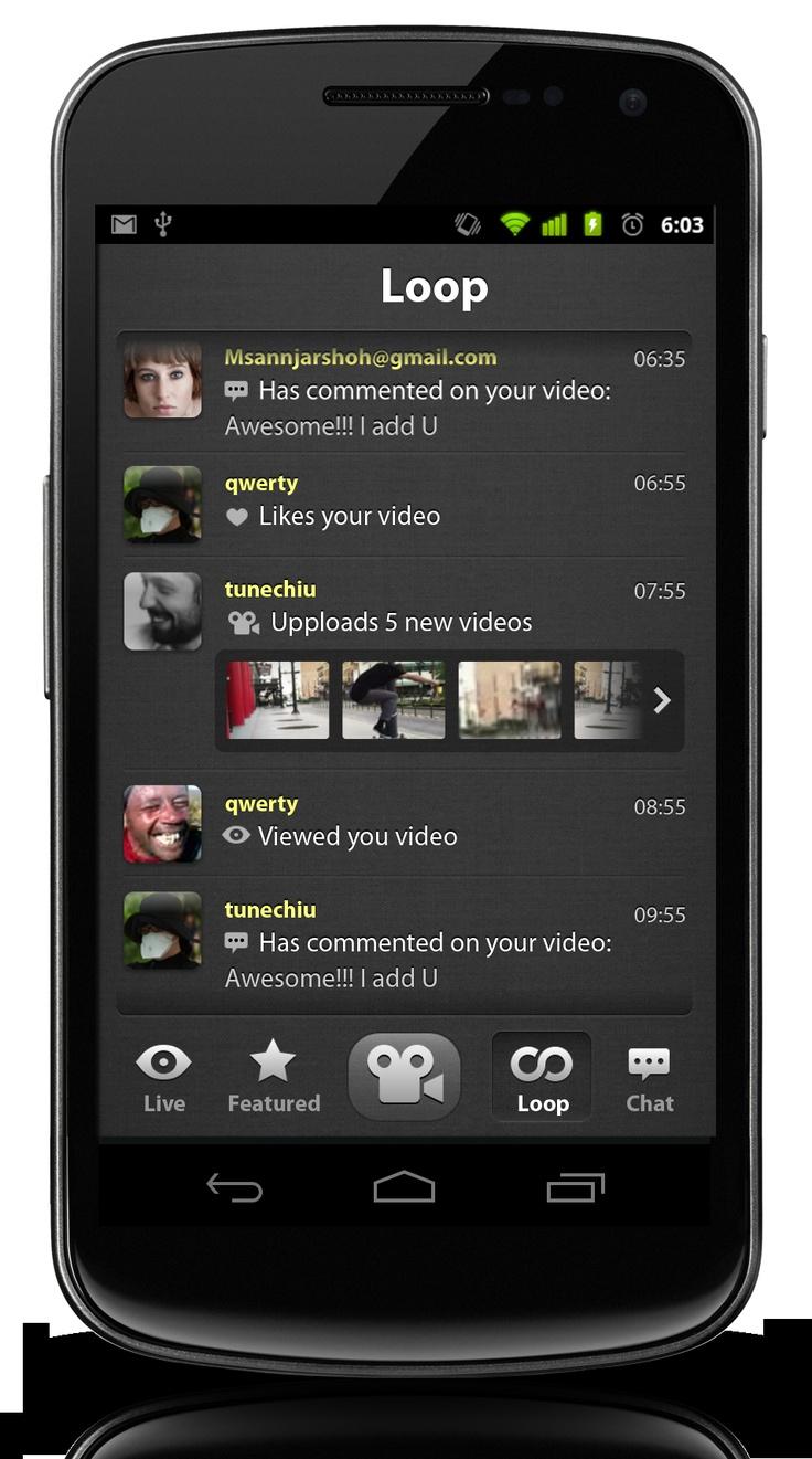 Looplr Loop Screenshot.  Get the Looplr App Now  www.looplr.com