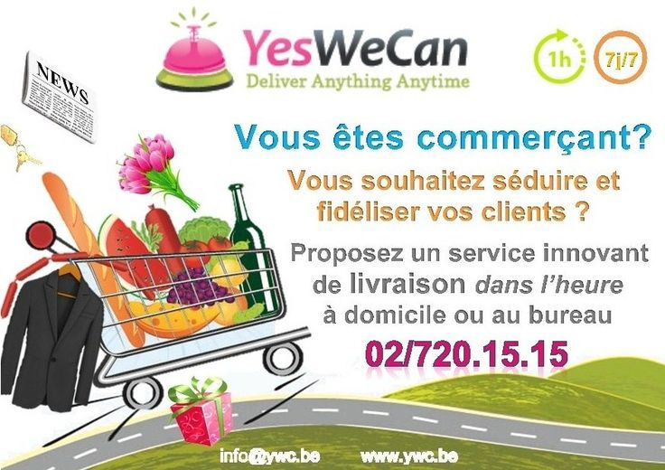 Yeswecan a mis en place un service innovant de livraison for Idee service innovant