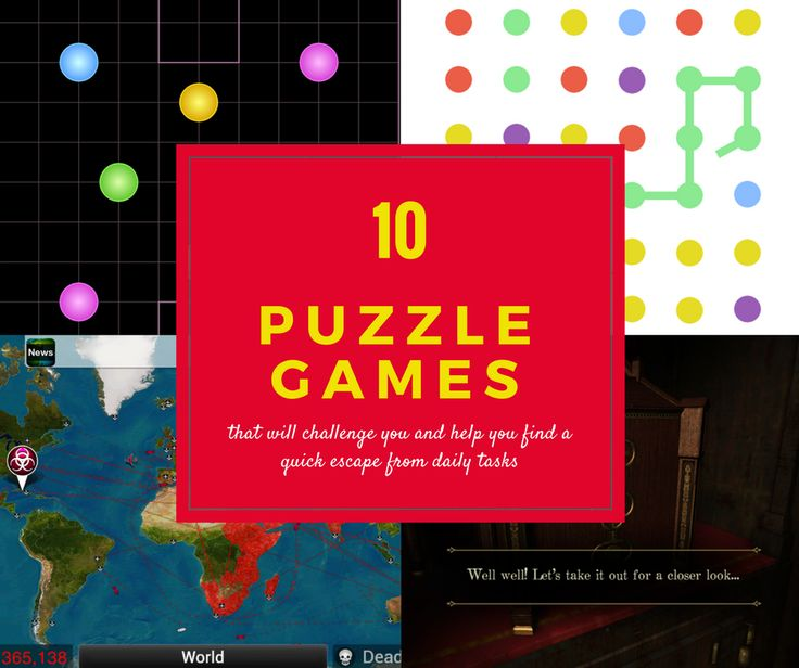 Give yourself a real break and dive into these 10 captivating puzzle games! Download the apps on your phone, tablet or other mobile device now!