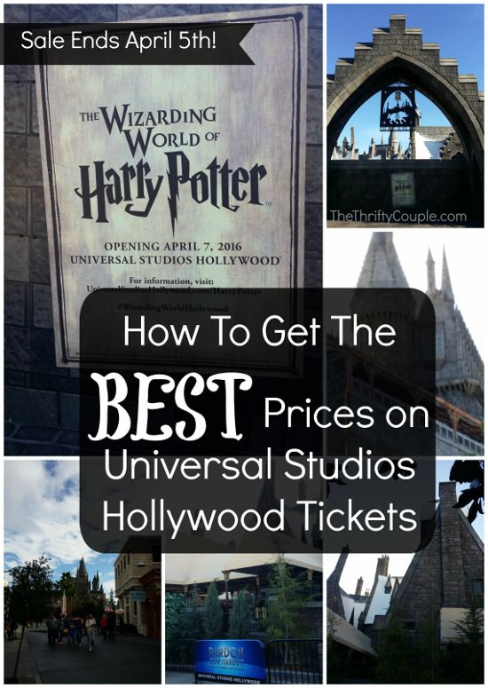 Universal Studios Hollywood Tickets Increased in Price, But Here's How To Get The Old Prices (through April 5th)