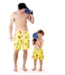 Terry Rich Australia Boardshorts. For kids & dads!